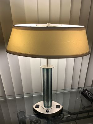 Desk Lamp with 2-Electrical Outlets for Sale in Anaheim, CA