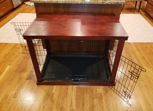 Furniture / Table Top 2 Door Dog Crate for Sale in Snohomish, WA