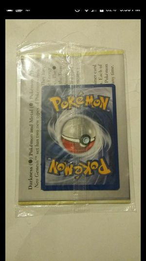 POKEMON NEO GEO PROMO CARDS STILL FACTORY SEALED VINTAGE for Sale in Las Vegas, NV