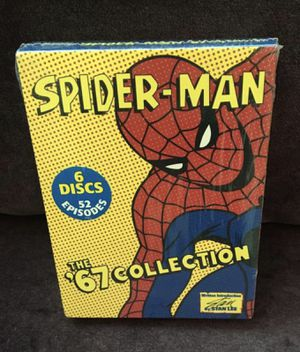 Spider-Man The 67 Classic Collection (DVD, 2004) 6-Disc, 52 TV Episodes (Stan lee signed) for Sale in Los Angeles, CA