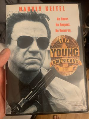 Younger Americans dvd *British Crime* Keitel* for Sale in San Bernardino, CA