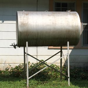 Huge Oil Drum Could Make A MONSTER GRILL for Sale in Lexington, SC