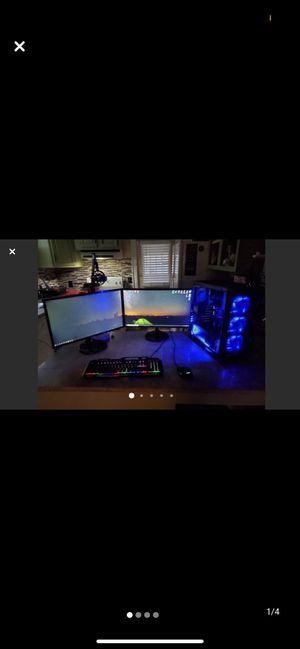 DUAL MONITOR DIGITAL STORM LUMOS GAMING PC ! 2TB for Sale in Columbus, OH