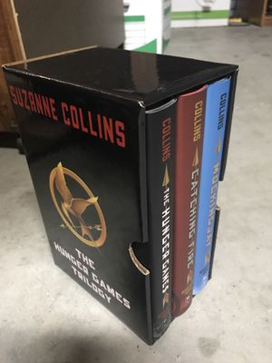 The Hunger Games Trilogy Hardcover Boxed set for Sale in Murrieta, CA