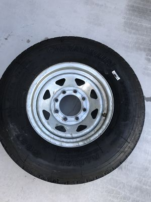 Trailer Tire and Wheel for Sale in Sun City, AZ