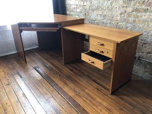 Mid Century Corner Desk for Sale in Chicago, IL