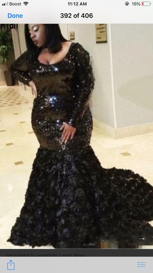 Formal dress plus size only used once for an adult prom for Sale in Washington, DC
