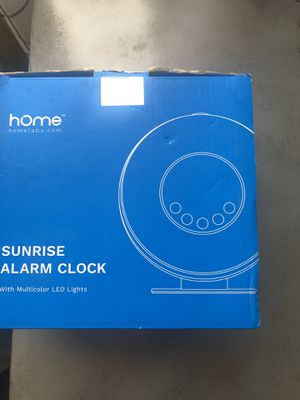 Home sunrise alarm clock for Sale in Baldwin Park, CA