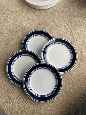 Set of 4 desert plates for Sale in Rockville, MD
