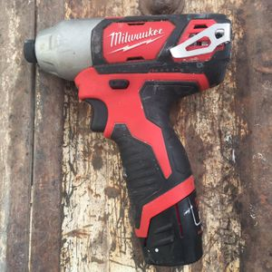Milwaukee Drill (NO CHARGER) for Sale in Albuquerque, NM