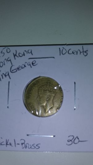 1950 King George 10 cent Hong Kong for Sale in Glendale, AZ