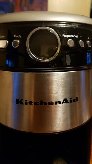 $15 Kitchen Aid coffee maker for Sale in Elizabeth, NJ