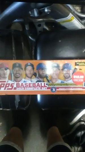 Topps complete set 2019 baseball cards for Sale in Rodeo, CA