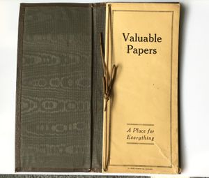 VINTAGE VALUABLE PAPERS INSURANCE PORTFOLIO, A.Linda & Sons co., Chicago for Sale in Portland, OR