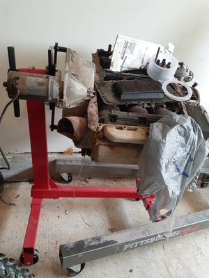 Motor stand And motor with motor puller for Sale in Austin, TX