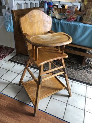 Antique - Child High Chair for Sale in Arvada, CO