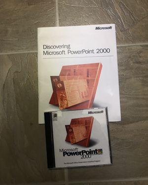 Microsoft PowerPoint 2000 for Sale in Encinitas, CA