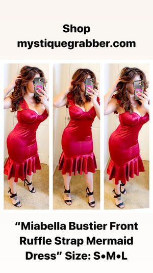 Burgundy mermaid dress for Sale in Rancho Cucamonga, CA