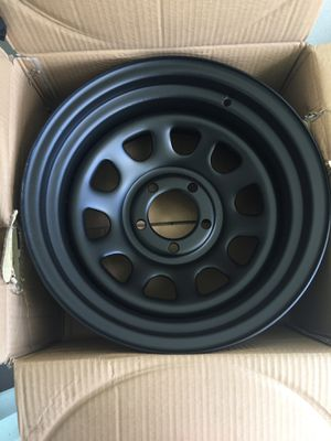 "Alll black 15"" inch rims for Sale in Port St. Lucie, FL"