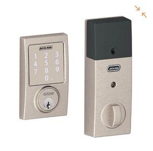 Schlage Century Satin Nickel Sense Smart Door Lock for Sale in Garden Grove, CA
