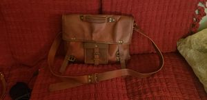 Vegan Tanned Leather Messenger Bag Satchel for Sale in San Diego, CA