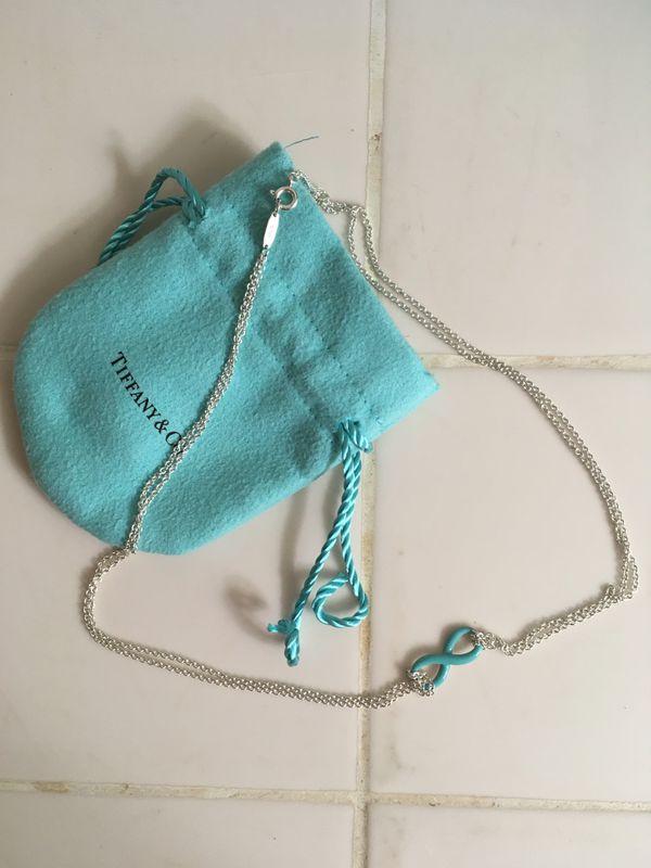 Tiffany's Infinity Necklace