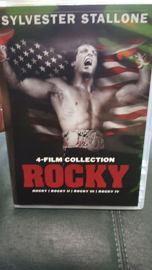 Rocky 1, 2, 3 and 4 Film Collection for Sale in Toddville, IA