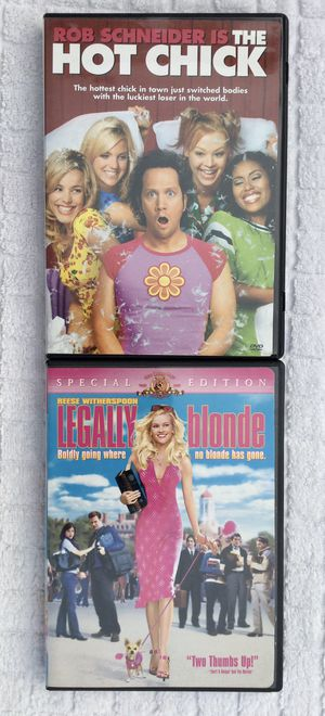 The Hot Chick & Legally Blonde DVD Bundle for Sale in Fresno, CA