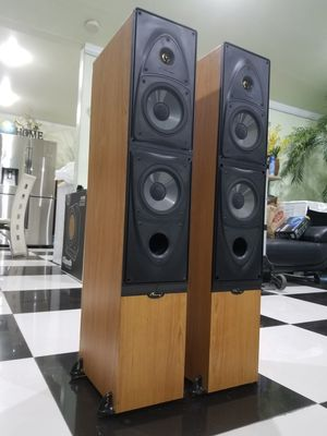 Mirage FRX 7 200 Watts speakers, Excellent condition perfectly working Amazing sound will test before you buy for Sale in Anaheim, CA