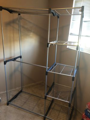 Mainstay Wire Shelf Closet Organizer (Black) - PLEASE READ DESCRIPTION! for Sale in San Lorenzo, CA