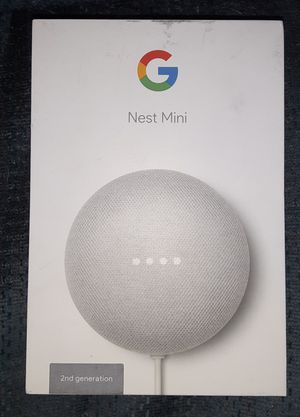 Google nest mini 2nd gen for Sale in Galloway, OH