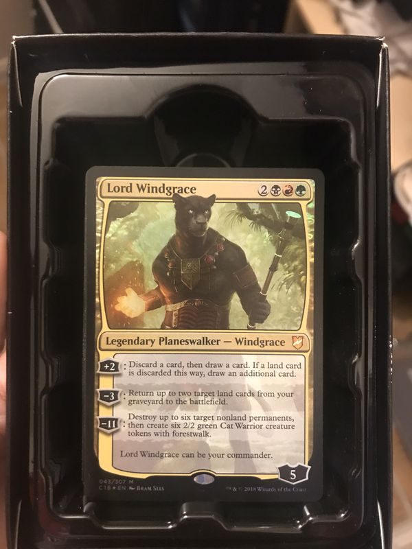 Magic the Gathering Nature's vengeance commander deck