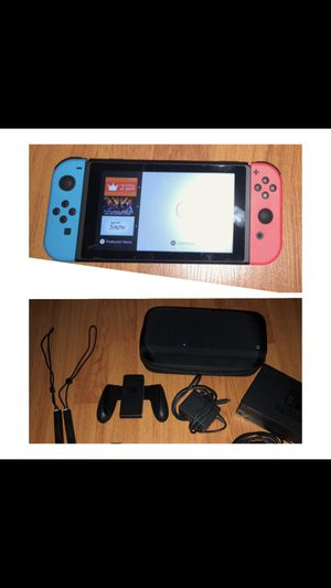 Nintendo Switch ( Full Set) Comes with 1 Game and a case for Sale in Glendale, CA