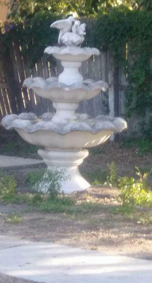 Three tier fountain for Sale in Bradenton, FL