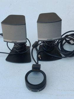 Bose Companion 5 Control Pod And 2 Speakers No Subwoofer for Sale in Las Vegas,  NV