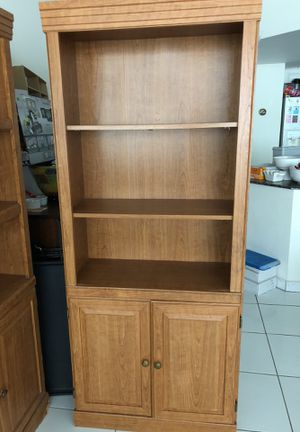 Bookshelves with cabinet for Sale in Indian Creek, FL