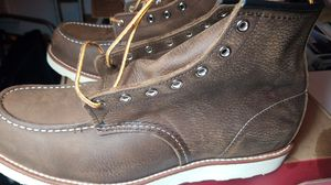 """Red Wing 6"""" Moc Brn Leather 13 D #8205 for Sale in Rosemead, CA"""