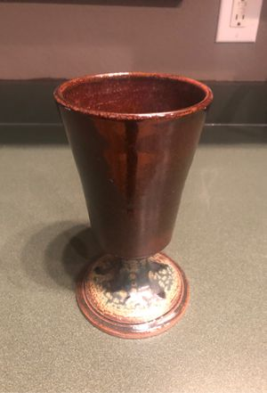 Pottery - goblet cup for Sale in Arnold, MO