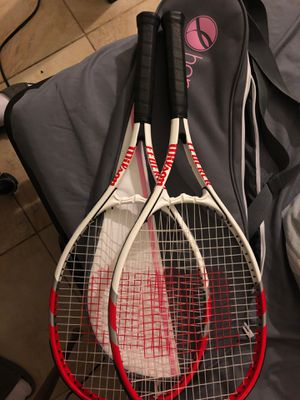 Wilson hope strung tennis rackets for Sale in Chino Hills, CA