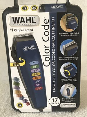 Wahl Color Code 17 piece clippers for Sale in Springfield, TN