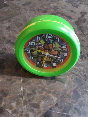Kids Teenage Mutant Ninja Turtle Alarm Clock for Sale in Rockville, MD