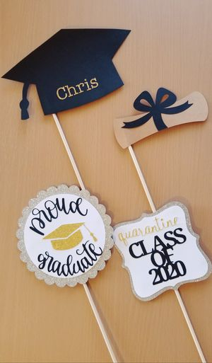 Glitter Graduation Photo Props for Sale in Chula Vista, CA