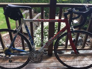 Cannondale CAAD5 Stars &Stripes 9/11 Tribute road bike, autographed by NY firefighters for Sale in Auburn, WA