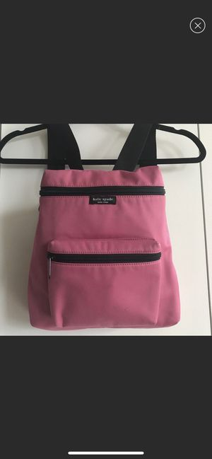 Kate Spade Backpack pink Almost perfect condition for Sale in HOFFMAN EST, IL