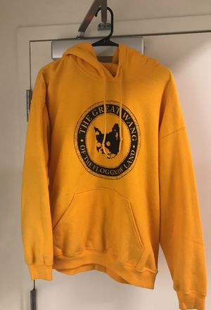 Golf Wang Yellow Hoodie sz large for Sale in San Francisco, CA
