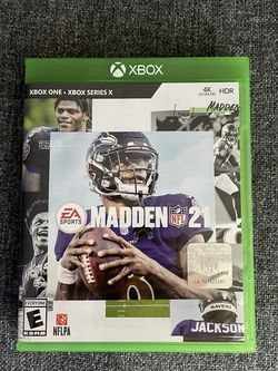 Madden 21 Xbox One/Series X for Sale in Westminster,  CA