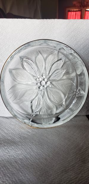 Pressed Glass Dish for Sale in Calvin, WV