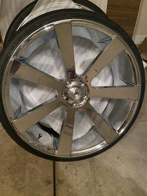 26 Asanti wheel Jeep srt track hawk Durango rt srt 5x5 5x127 for Sale in Aurora, IL