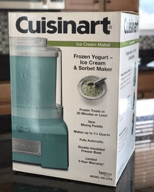 Cuisinart Ice Cream Maker for Sale in Lansdowne, VA