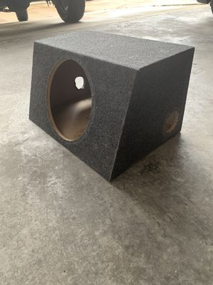 """12"""" subwoofer box for sale for Sale in Houston, TX"""